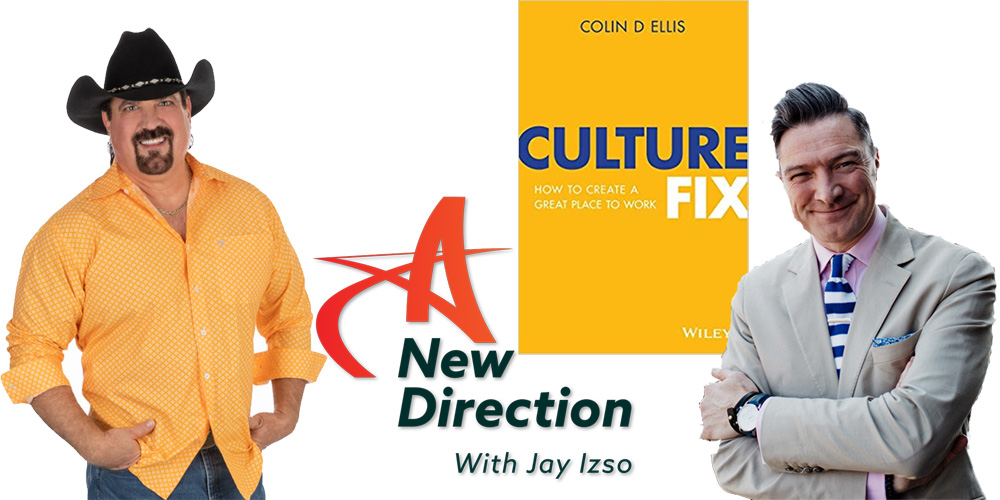 Culture Fix - Author Colin D. Ellis on A New Direction with Jay Izso
