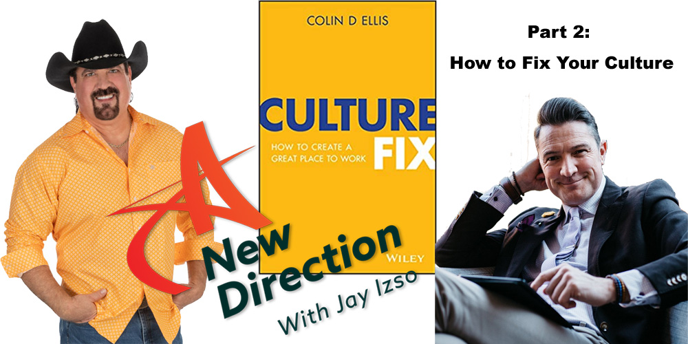 Colin Ellis - Culture Fix - A New Direction Jay Izso