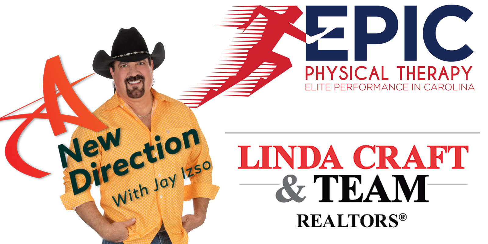 A New Direction Sponsors EPIC Physical Therapy and Linda Craft and Team, Realtors